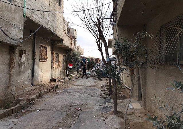 俄国防部:叙东古塔居民向维权组织提出协助撤离的请求