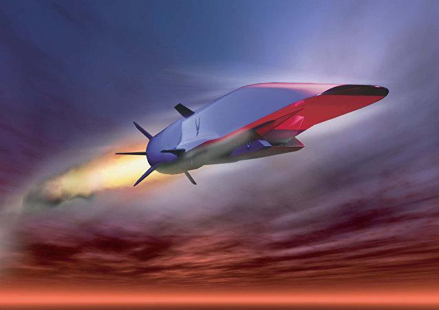 美國超音速巡航導彈原型X-51A