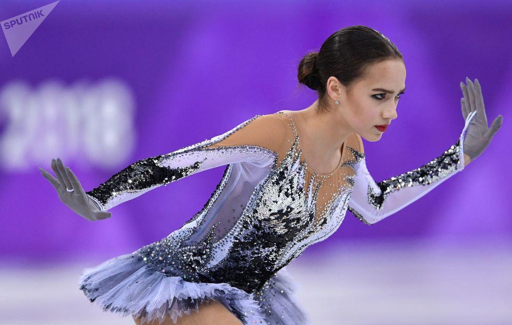俄羅斯花滑女選手阿麗娜·扎吉托娃