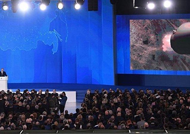 """普京称已开始""""萨尔马特""""导弹系统的积极试验阶段"""