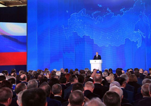 普京:俄中全面战略协作伙伴关系是友好平等关系的典范