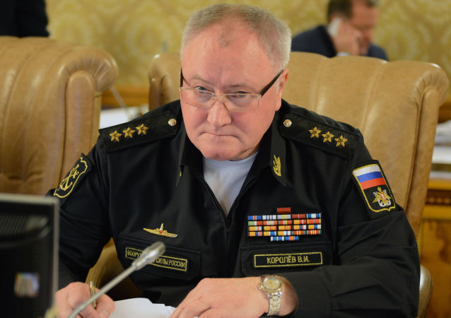 俄罗斯海军总司令科罗廖夫