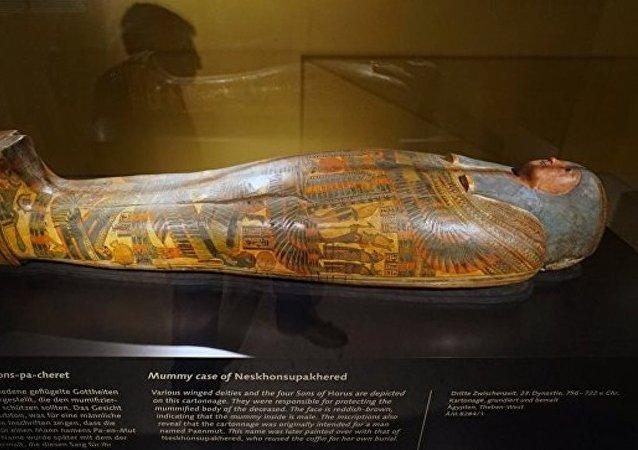 埃及5000年前木乃伊身上發現世界最古老紋身