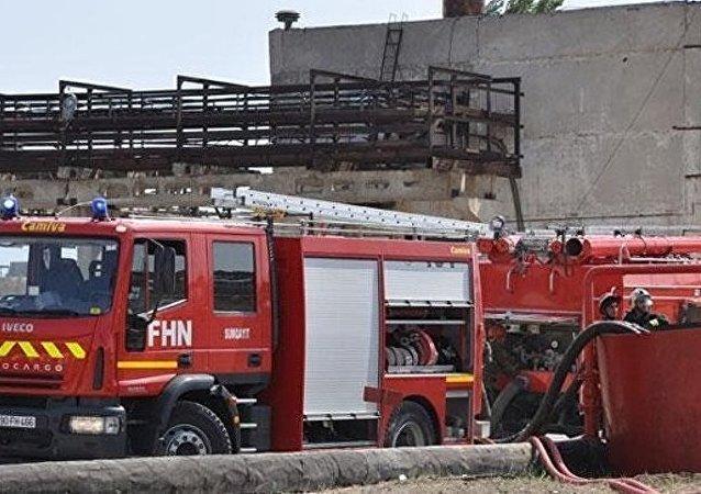 巴库一戒毒所火灾中24人死亡34人获救