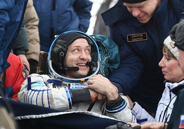 俄羅斯宇航員亞歷山大·米蘇爾金