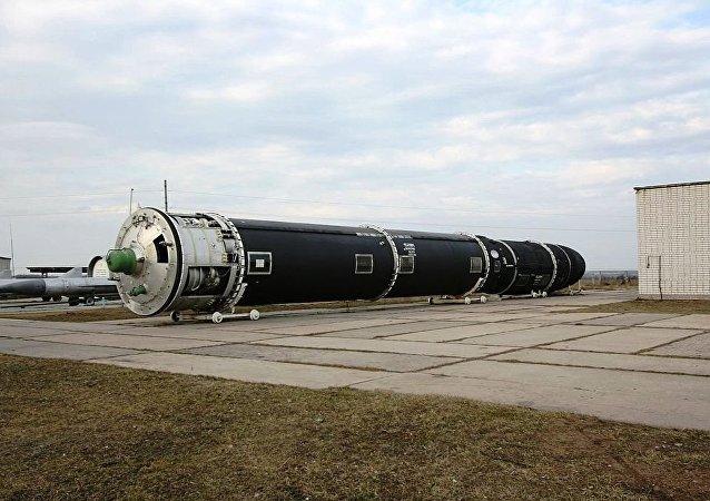 俄战略火箭军很快就会获得数套萨尔马特导弹系统
