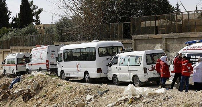 东古塔地区人道主义走廊开通以来已逾300人撤离