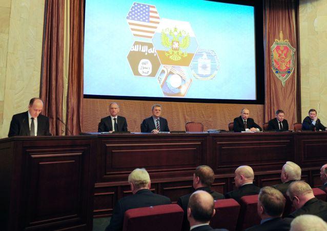 普京3月5日將參加聯邦安全局局務委員會會議
