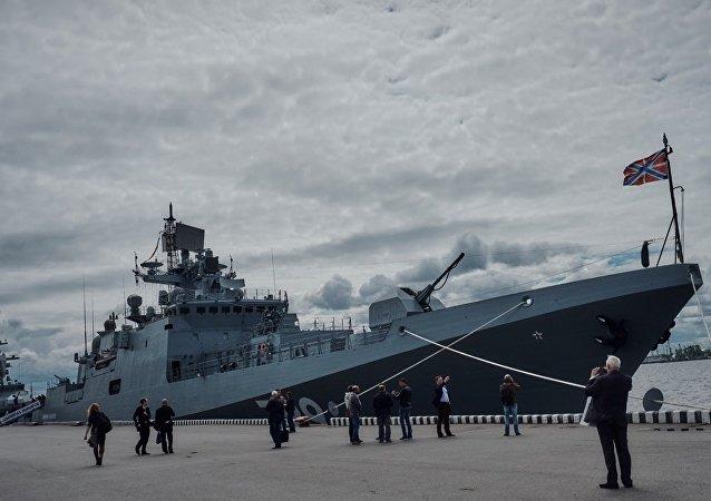 俄将向印交付4艘11356型护卫舰