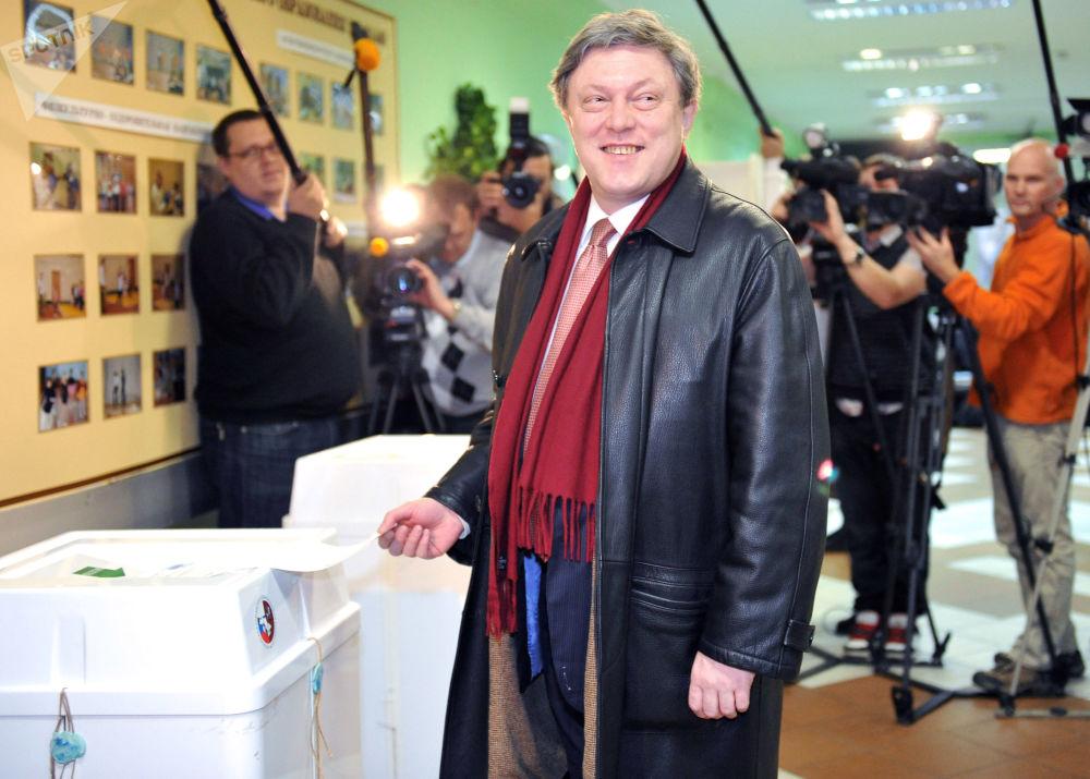 亞夫林斯基1973年畢業於俄羅斯普列漢諾夫經濟大學。