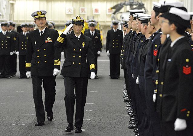 日本海自护卫队迎来首位女司令