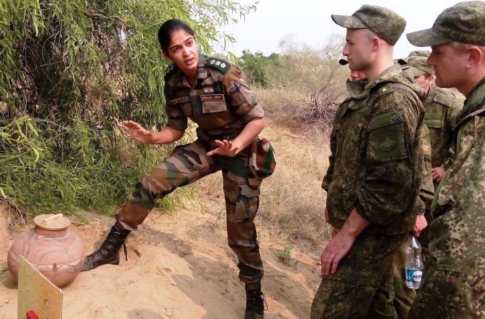 印度女軍官