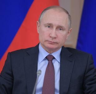 克宫: 普京总统飞抵俄达吉斯坦共和国