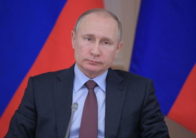 普京:在反恐战场上应联合国际力量
