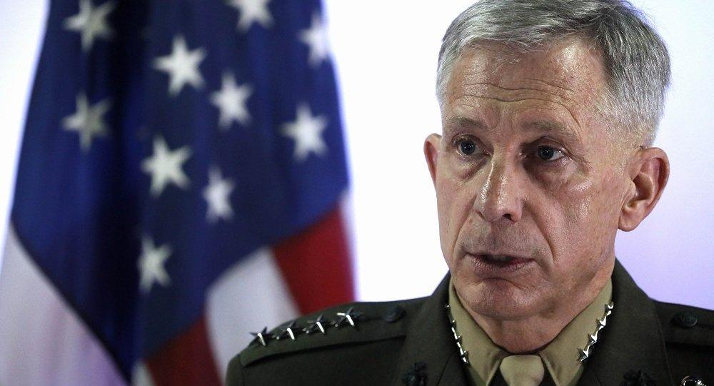 美國駐非洲美軍指揮官瓦德豪瑟將軍