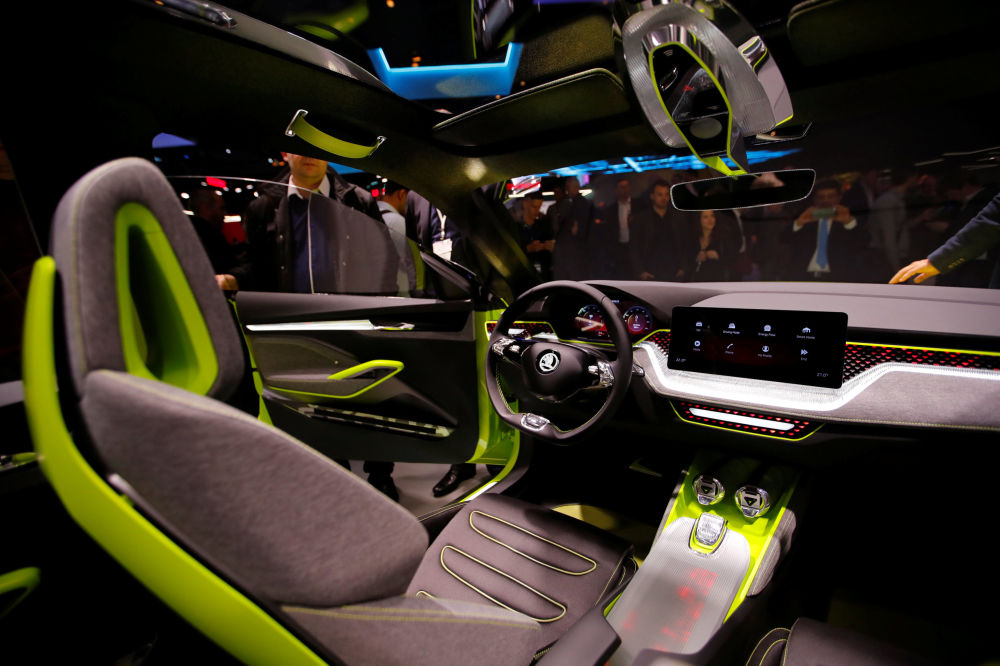 斯科達Vision X 概念車