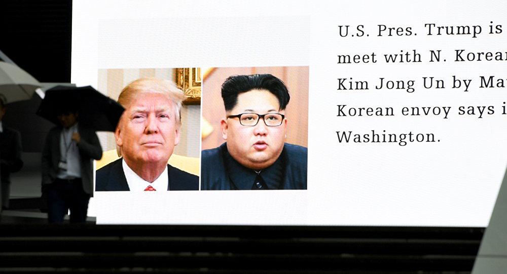 """特朗普:若与朝鲜的""""交易""""成功将有利于全世界"""