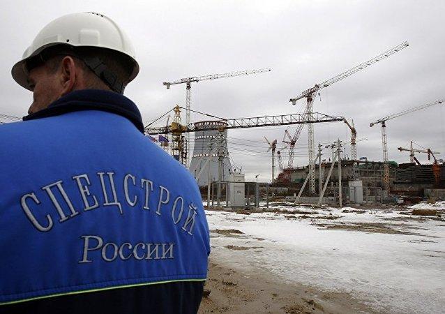 列寧格勒2號核電站1號核電機組已經開始工作