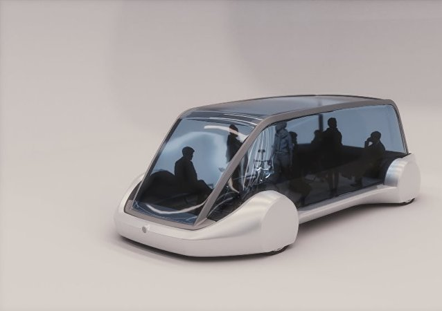 伊隆·馬斯克推出了一個帶電動公交的地下隧道系統