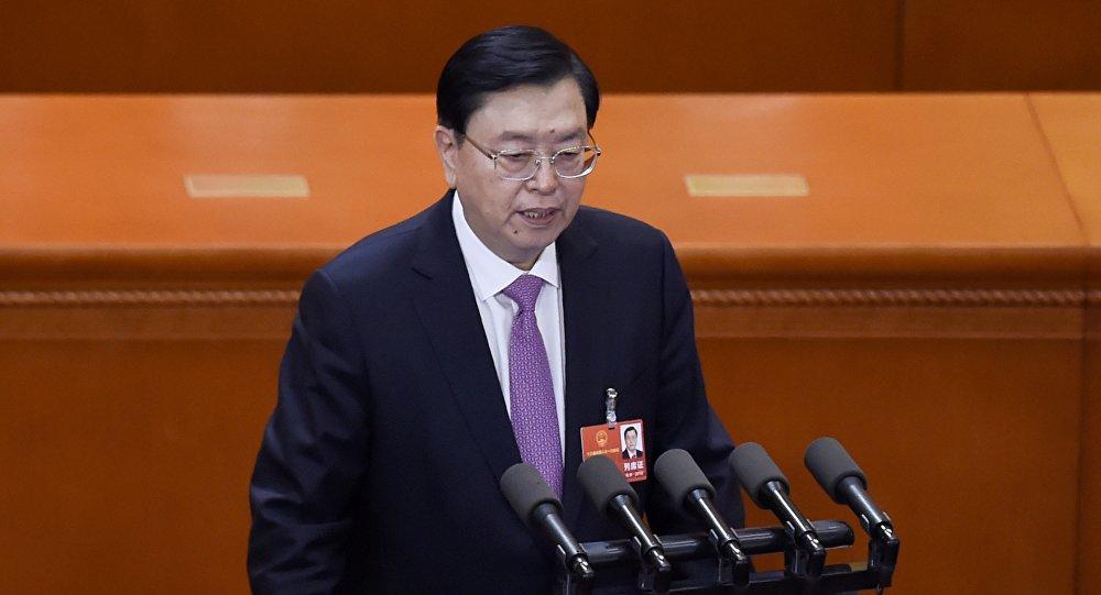 中國全國人大常委會委員長張德江