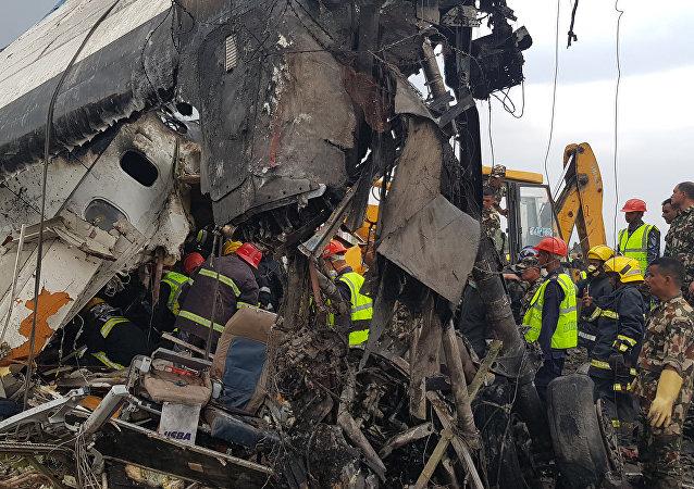 加德满都国际机场负责人: 进场失误是BS 211航班失事原因