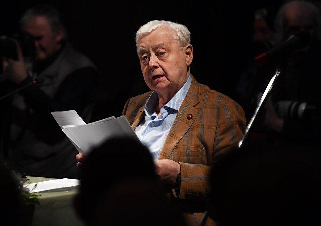 前蘇聯人民演員奧列格·塔巴科夫去世