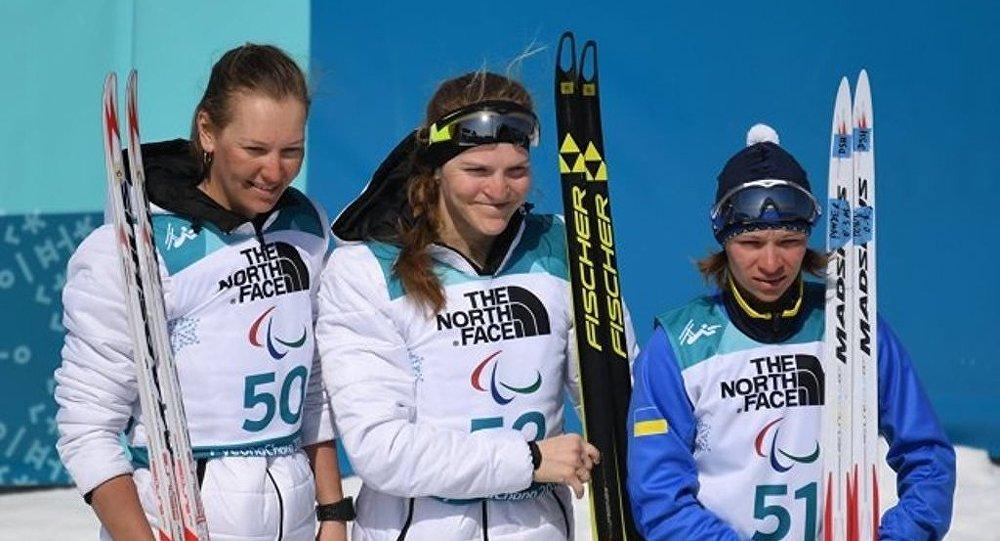 俄羅斯選手魯緬採娃收穫平昌冬殘奧會個人第三金