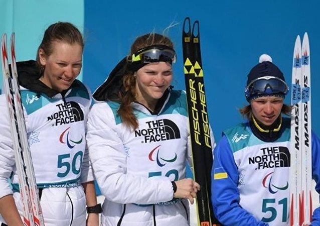 俄罗斯选手鲁缅采娃收获平昌冬残奥会个人第三金