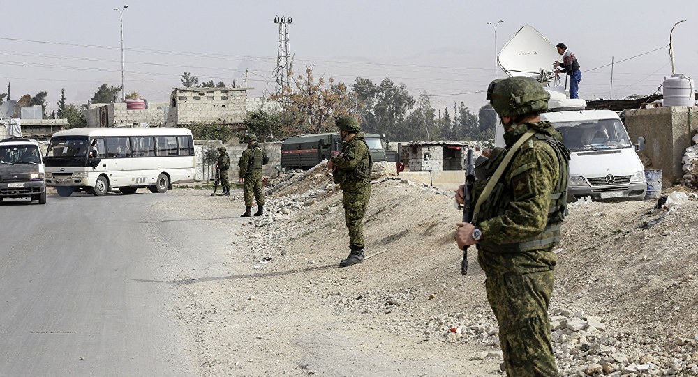 俄軍總參謀部表示,俄空天軍在駐敘俄軍人生命受到威脅的情況下將還擊,其中包括對大馬士革進行導彈打擊和轟炸的情況下
