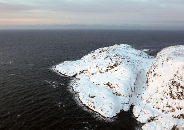 俄羅斯摩爾曼斯克州巴倫支海科拉半島捷里別爾斯卡婭灣