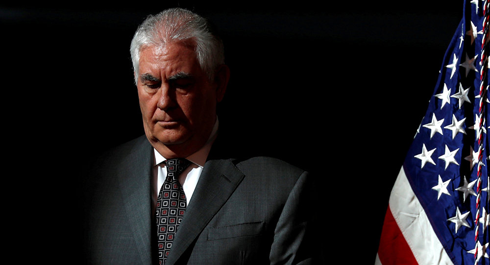 特朗普證實,邁克·蓬佩奧代替雷克斯·蒂勒森執掌國務院