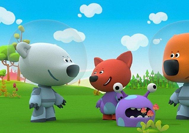 《小小熊》动画片