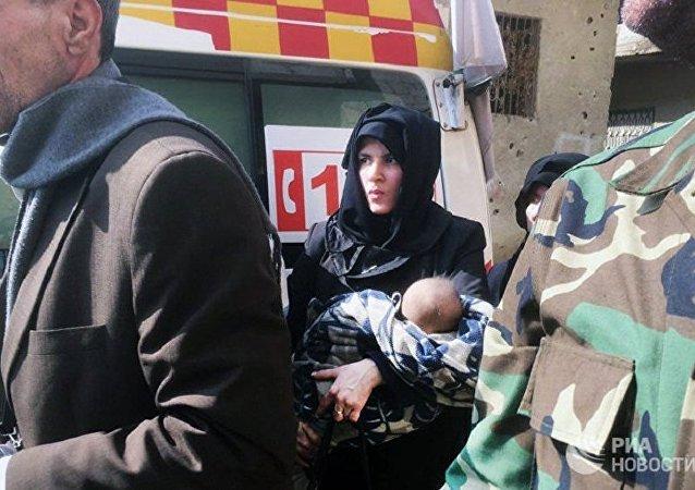 叙东古塔平民称该地区没有使用化武的迹象