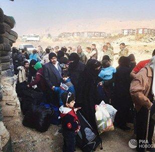 人道主义停火实施以来逾13.5万人撤离东古塔