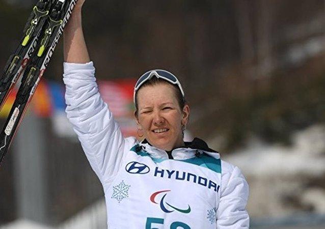 俄罗斯选手安娜·米列宁娜在平昌再夺金