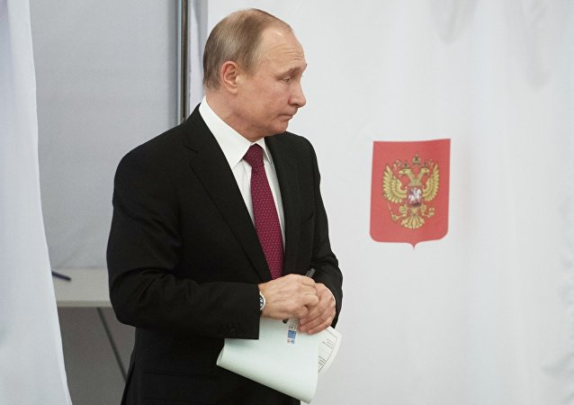 普京称不打算参加2030年总统选举
