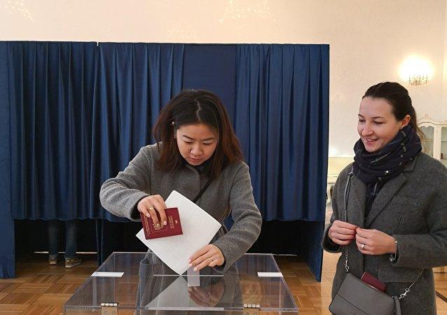 Голосование в Китае