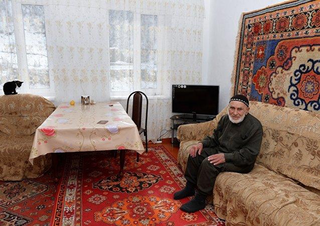 Долгожитель Илиев Аппаз Лоросович (118 лет, 1896 года рождения)
