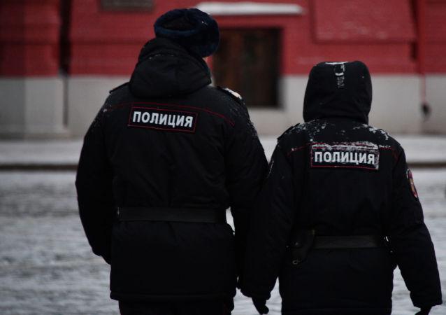 莫斯科警方(资料图片)