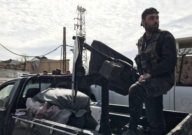 叙利亚政府军在东古塔