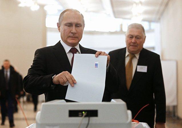 俄羅斯總統候選人普京
