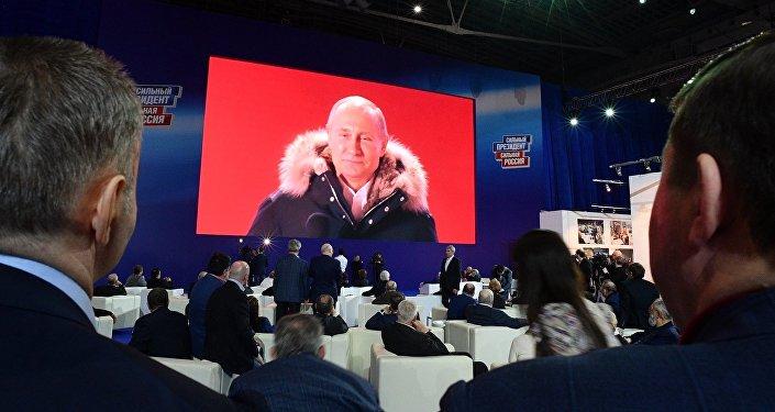 普京赢得有权参加大选的绝对多数俄罗斯人的支持
