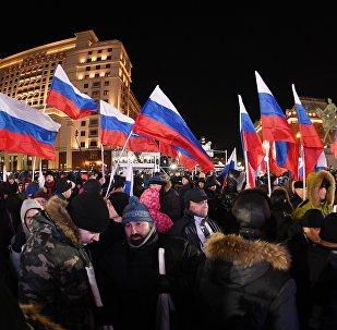 近90%的俄罗斯人期待选举后俄罗斯有积极的变化