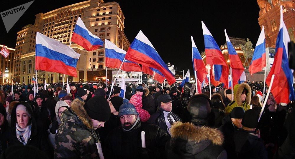 民調:逾九成俄公民稱自己為愛國者