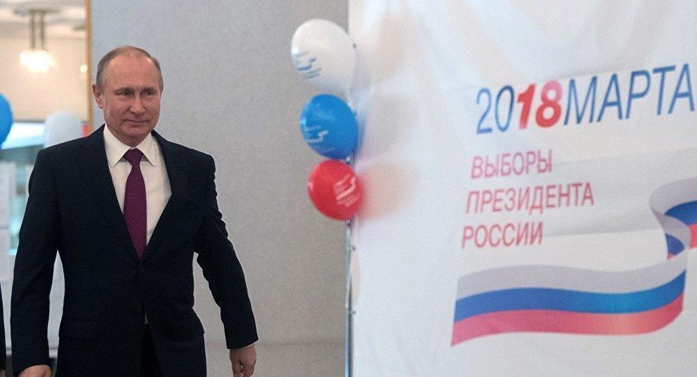普京再次当选俄总统有利于世界稳定