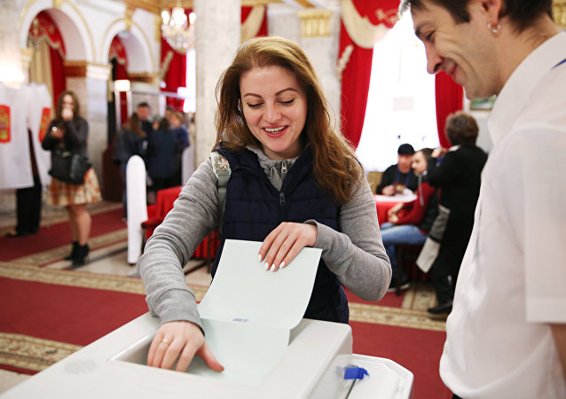 2018年俄罗斯总统大选