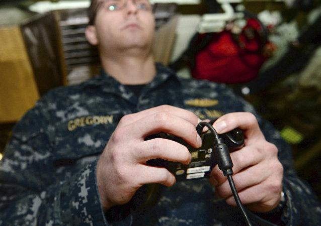 美国核潜艇配备儿童遥控器