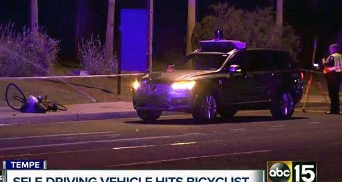 美國無人駕駛車撞死一名行人