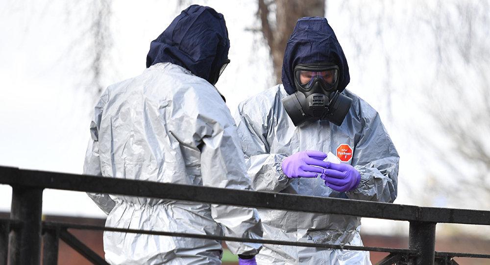 """禁止化学武器组织证实,在试图杀害前俄英双重间谍斯克里帕利及其女儿时使用了""""诺维乔克""""物质"""