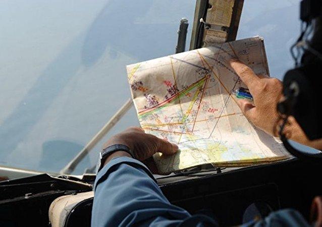 """失踪的马航波音777""""现身""""谷歌地图"""
